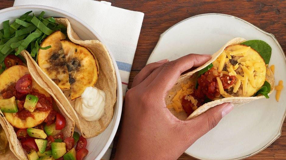Egg Bite Taco