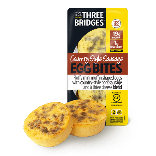 Country-Style Sausage Egg Bites